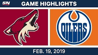 NHL Highlights | Coyotes vs. Oilers - Feb 19, 2019 by Sportsnet Canada