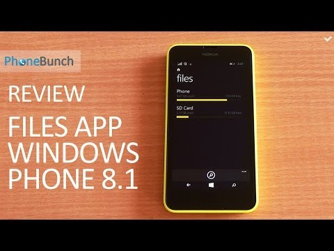 Files App Review for Windows Phone 8.1