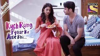 Video Kuch Rang Pyar Ke Aise Bhi | Dev Wants Sonakshi To Feed Him | Best Moments MP3, 3GP, MP4, WEBM, AVI, FLV Desember 2018