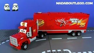 Video LEGO CARS 2 MACK'S TEAM TRUCK CRASH! MP3, 3GP, MP4, WEBM, AVI, FLV Juni 2018