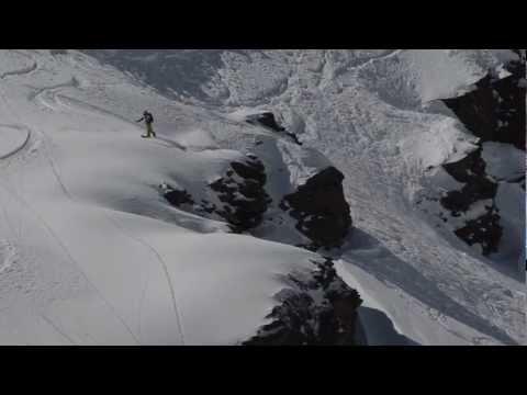 Frikjøring i pudder på Mount Elbrus 2013