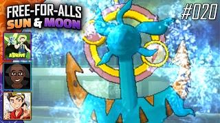 Pokémon Sun & Moon FFAs #020 Feat. aDrive, JayYTGamer & FeintAttacks!! by King Nappy