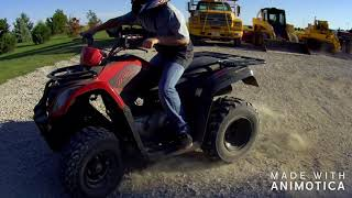 5. Kymco MXU 150 VS Coolster 125 ATV