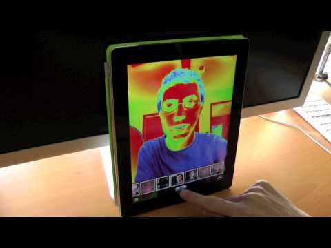iPad photo booth app
