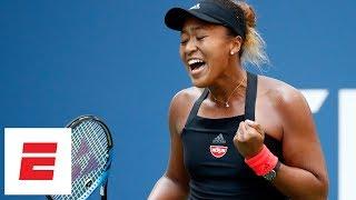 2018 US Open highlights: Naomi Osaka routs Lesia Tsurenko to reach semis | ESPN