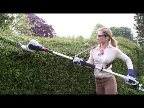"""Eckman Lightweight 8ft 6 ½"""" Long Reach Telescopic Hedge Trimmer"""