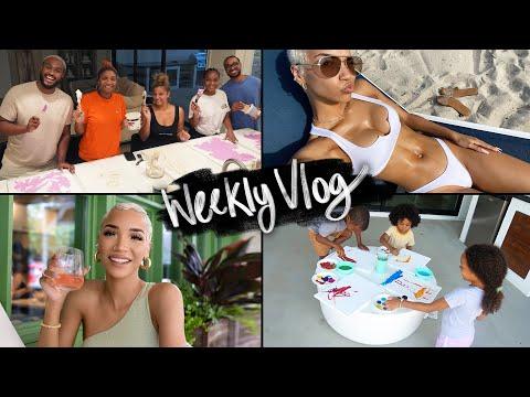RAY'S WEEK| Miami Trip, Mom Life, Paint Party, Photoshoot!