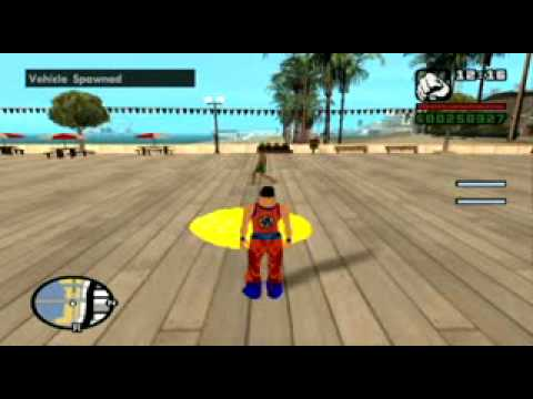 GTA SA Goku Johnson