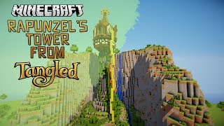 Rapunzel's Tower Minecraft Timelapse!