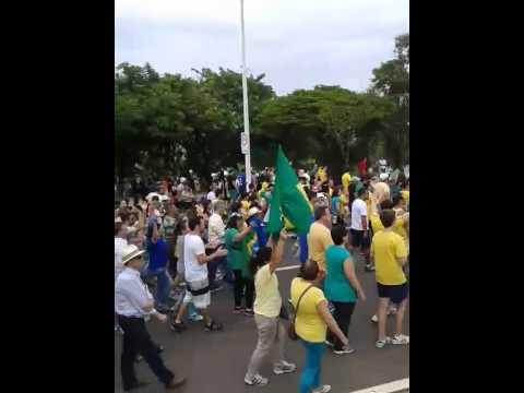 Manifestação em Indaiatuba 15/03/2015