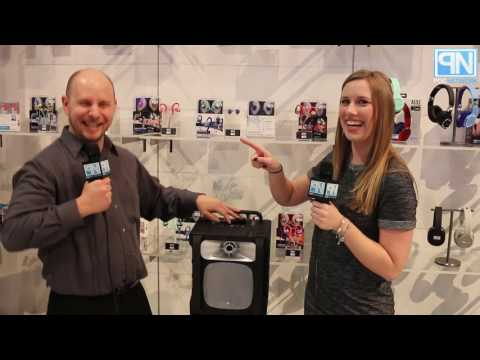 Altec Lansing - Sonic Boom Wireless Party Speaker - CES 2017 - Poc Network