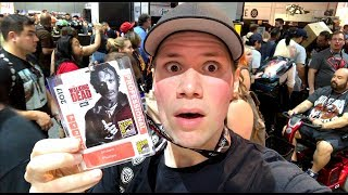 **Comic Con Tour Video -- Check Out My New Video - https://www.youtube.com/watch?v=22ZvfLuvw5U▶ Follow me on Instagram - http://instagram.com/coolduder▶ Follow me on Twitter - https://twitter.com/shawncphillipsMy new video blog with me going around the 2017 San Diego Comic Con Convention looking for Blu-rays / Dvds and Toys during preview night at San Diego Comic-Con International 2017Some of the booths and spots I feature in my SDCC 2017 video are : - Funko Pop Urban Vinyl Booth- Nickelodeon Booth - Neca Booth : Bill and Teds Bogus Journey Death Clothed Figured- Shout Factory and Scream Factory Booth & Scream Factory Buttons- Fox Both : Free Poster Rolls - Walking Dead Booth : Free Walking Dead Fidget Spinner - The Fidget Spinners Booth - Bootleg Toys Booth - Jason Edmiston Poster Booth : The Texas Chainsaw Massacre 4k Ultra HD Blu-ray - Warner Bros Booth : It Remake Movie Props - Retro Toys and Movie Poster Booths