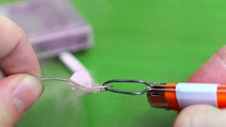 How to make a soldering iron out of a lighter - YouTube