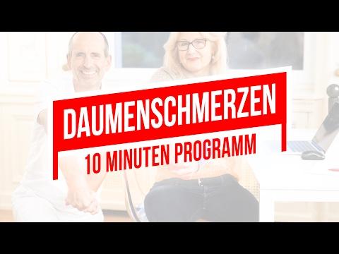 Daumenschmerzen | 10-Minuten-Programm für den Daumen | Rhizarthrose, Daumensattelgelenk
