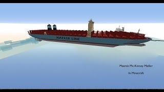 Video Maersk Mc-Kinney Moller In Minecraft MP3, 3GP, MP4, WEBM, AVI, FLV Juli 2018