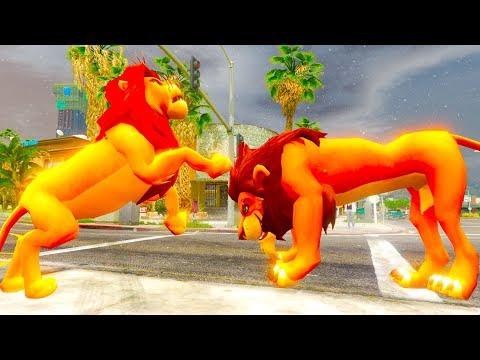 DISNEY | THE LION KING | SIMBA VS SCAR