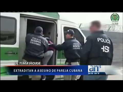 Extraditan a asesino de pareja cubana a EEUU