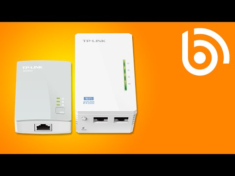 TP-LINK Powerline Adapter Introduction