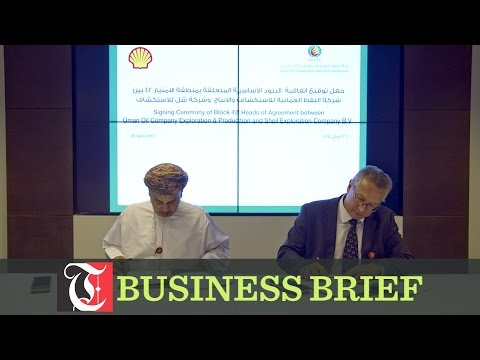 Oman Oil Company Exploration & Production signs deal with Shell