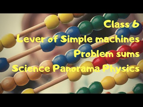 Lever Problems#Sums on Simple machines#ICSE class 6