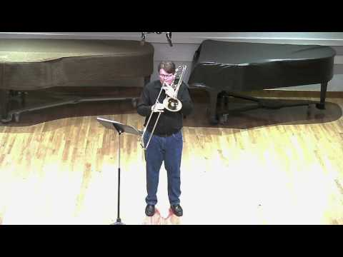Liam Glendening-Tenor Trombone-YOA Audition 2017 (видео)