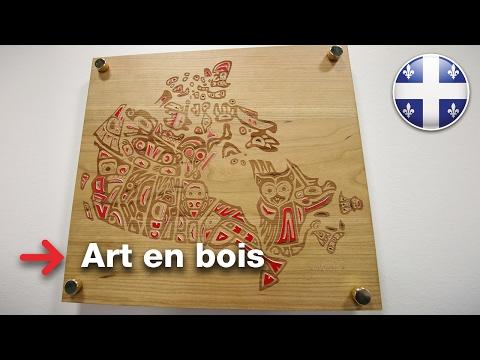 Art en bois | plaque en bois solide | Bois de gravure (видео)