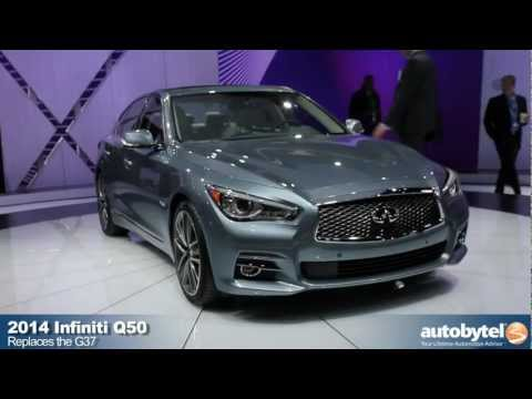 2014 Infiniti Q50 at the 2013 Detroit Auto Show