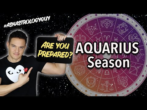 Are You Prepared for AQUARIUS SEASON? (All SIGNS!!)