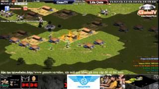 AOE mới nhất Siêu kinh điển GameTV vs Hà Nội + Skyred C5 T1 ngày 3 7 2015, game đế chế, clip aoe, chim sẻ đi nắng, aoe 2015