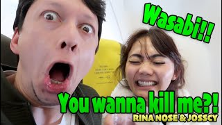 Video CRAZY RINA NOSE & JOSSCY !! WASABI is EXTREME!! MP3, 3GP, MP4, WEBM, AVI, FLV Agustus 2019