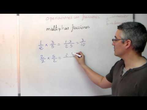 Aprende matemáticas con fisicomolon: Multiplicar fracciones