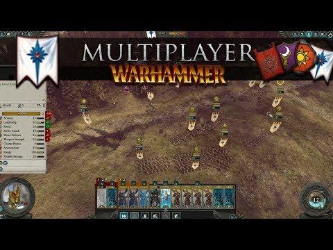 Live Multiplayer with the High Elves (Total War: Warhammer 2 Online Battle #262)