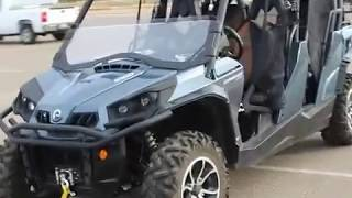 6. 2017 Can-Am Commander Limited