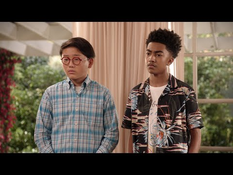 Ruby Explains High School Maturity to Jack and Mason - black-ish