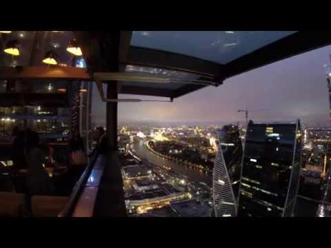 МОСКВА СИТИ - панорамный ресторан SIXTY. Башня Федерация. 62 этаж.