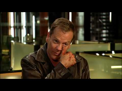 Kiefer Sutherland 24 series finale video interview