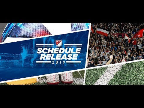 MLS 2019 Schedule Revealed