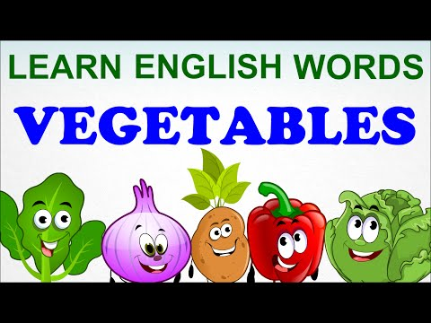 Vegetables Compilation | Pre School | Learn English Words (Spelling) Video For Kids and Toddlers
