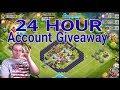 24 Hour Castle Clash Account Giveaway
