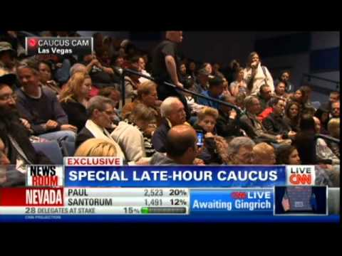 nevada caucus - CNN tunes in to hear from Caucus goers at a special late caucus for religious voters.