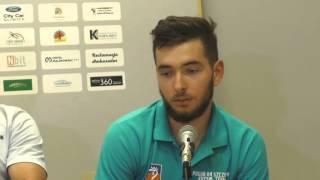 Wypowiedzi po meczu Nbit Gliwice - Pogoń 04 Szczecin (8 kolejka)