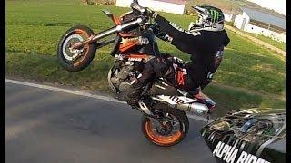 8. KTM 640 LC4 // Wheelie Fail // Alpha Riders