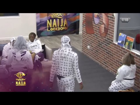 Day 39: Mock a painting | Big Brother: Lockdown | Africa Magic