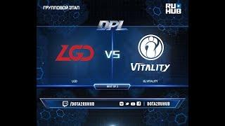 LGD vs IG.V, DPL 2018, game 1 [GodHunt, Inmate]