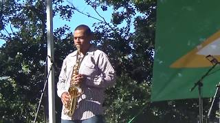 "Juneteenth celebration  Oak Park in Sacramento CA with Shawn Raiford  ""The Saxual One"" Raiford, is one of the most appreciated musical talents currently rising in the Sacramento area music scene. Either playing alone or with his band, ""Saxual Chocolate"", Raiford     #QueenHollywood  #GB Productions"