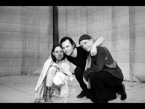 Romeo Castellucci, Vitaly Polonsky, Audrey Bonnet and Denis Lavant — about Jeanne au bûcher.