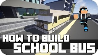 """Minecraft - How to Build: American School Bus! Second Video of my """"How To Build Series"""". Next will be a normal Bus, other Cars, small planes and so on! Take a look at the first Video, a Formula 1 Race Car!►FACEBOOK: https://www.facebook.com/DaxMatic►GOOGLE+: https://plus.google.com/+DaxMatic/posts..............................................................................................« CINEMATICS (PLAYLISTS) »► EPIC! - Series: http://bit.ly/1OuH1UC► TexturePacks: http://bit.ly/1DpXNhu► RollerCoasters: http://bit.ly/1DYCFUe► Server-Map: http://bit.ly/1Eh9f5J► Mansions: http://bit.ly/1xrKO1q► Modern Buildings: http://bit.ly/1AewzwC► Ships/Yachts: http://bit.ly/1wYEo8Q..............................................................................................« CREDITS »► Intro: https://www.youtube.com/user/WinstonePicture► Outro: https://www.youtube.com/user/OffTM4► Music: Jim Yosef - Arrow / Firefly► My Server: mc.paradisefalls.eu..............................................................................................« MINECRAFT »► Official Site: https://minecraft.net/► ResourcePack: Flow's HD fixed by DaxesMC► ShaderMod: Seus 10.1 Ultra► Version: 1.7.10.............................................................................................."""