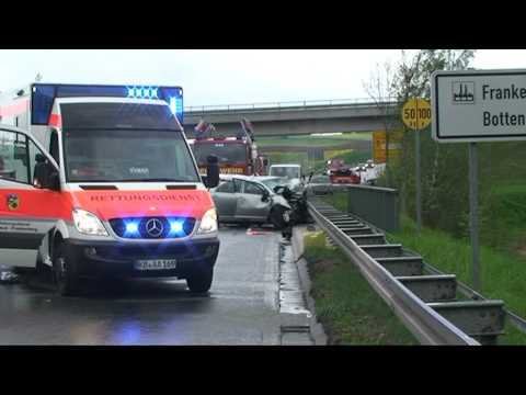 Frankenberg: Drei Tote bei schwerem Unfall