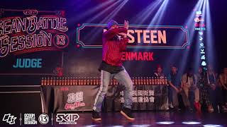 Mr. Steen – OBS vol.13 Day2 Popping Judge Demo