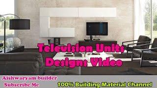 Television units designs